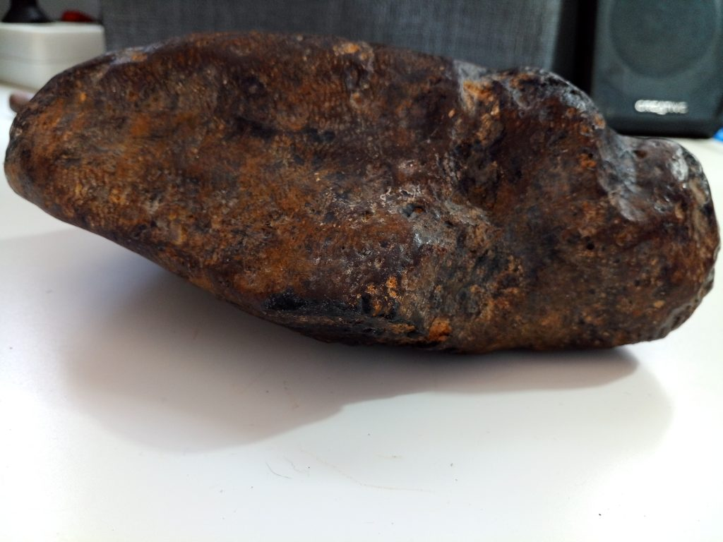 Meteorito Metálico Auténtico - Certificado de Autenticidad 4